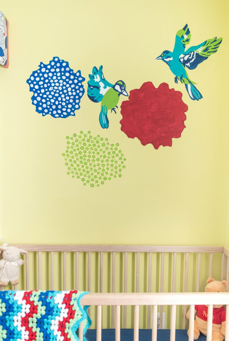Janery A Colorful Nursery that Will Grow with Baby