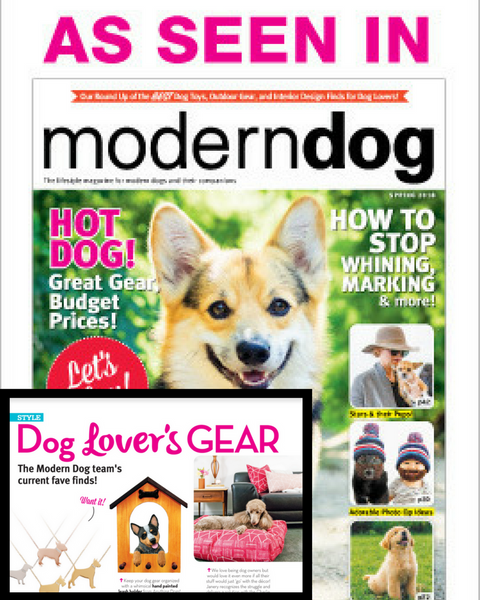 Janery has been featured in Modern Dog Magazine