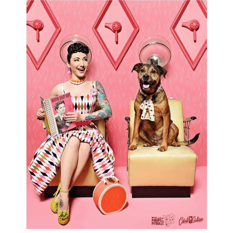 Janery Gives Back to Pinups for Pitbulls