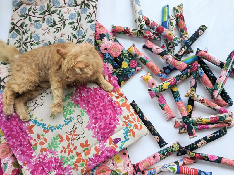Janery Happy Ever After Collection Catnip Mats and Cat Toys