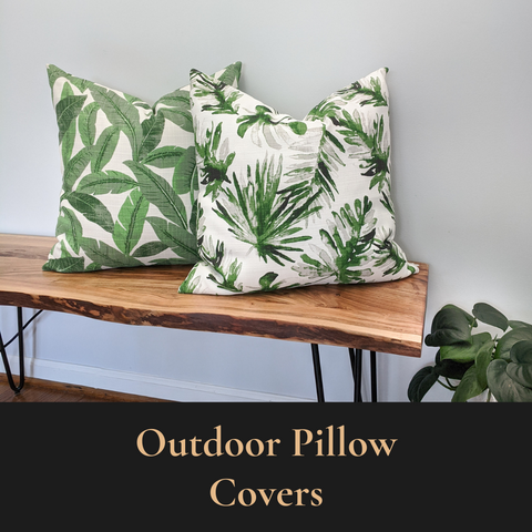 Janery Summer Collection Outdoor Throw Pillows