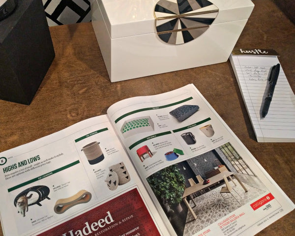 Janery's Waterproof Dog Bed was featured in Washingtonian Magazine