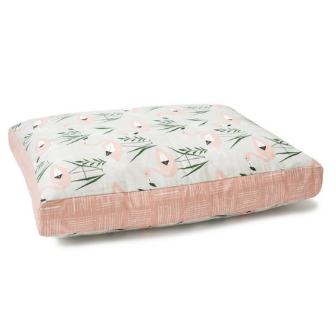 Dog Bed Cover | Flamingo