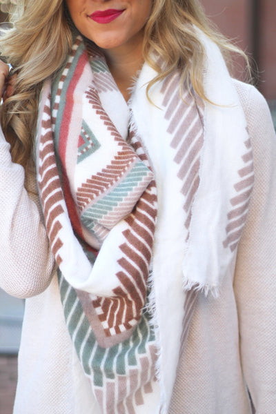 The Cait Blanket Scarf