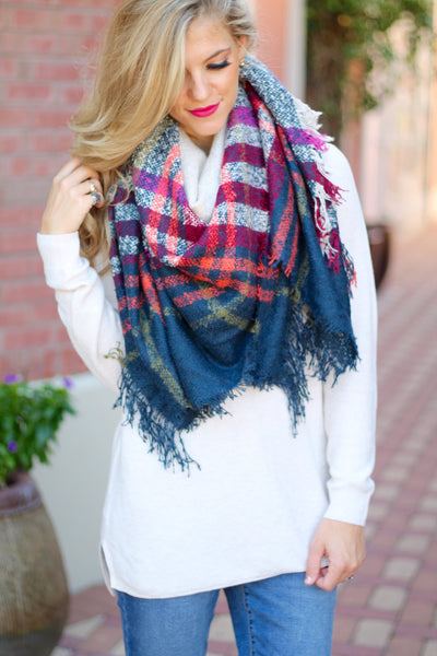 The Rae Blanket Scarf