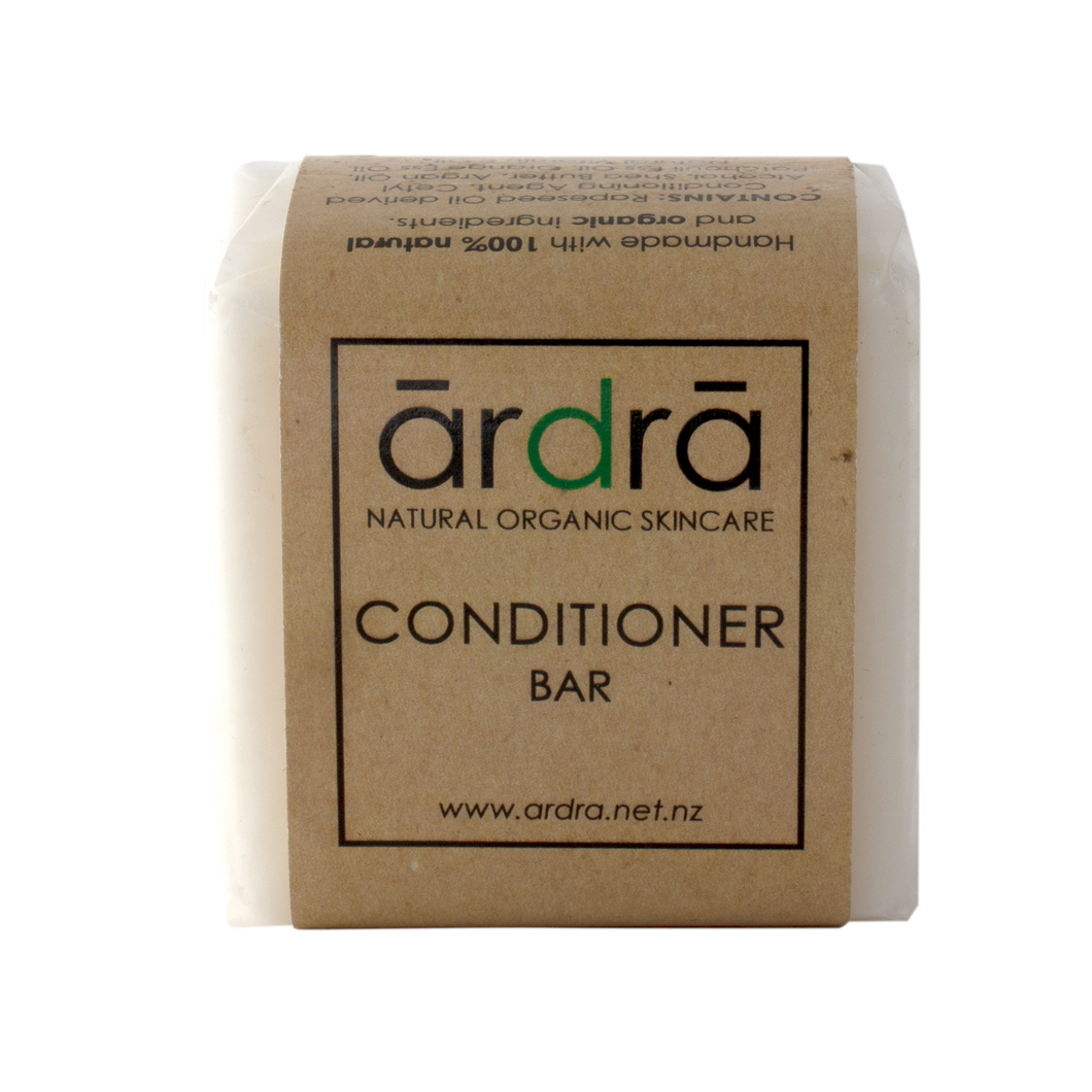 Natural organic conditioner bar