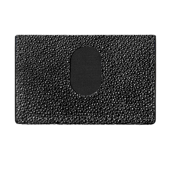 Bespoke Stingray Slimplistic Wallet (Black)