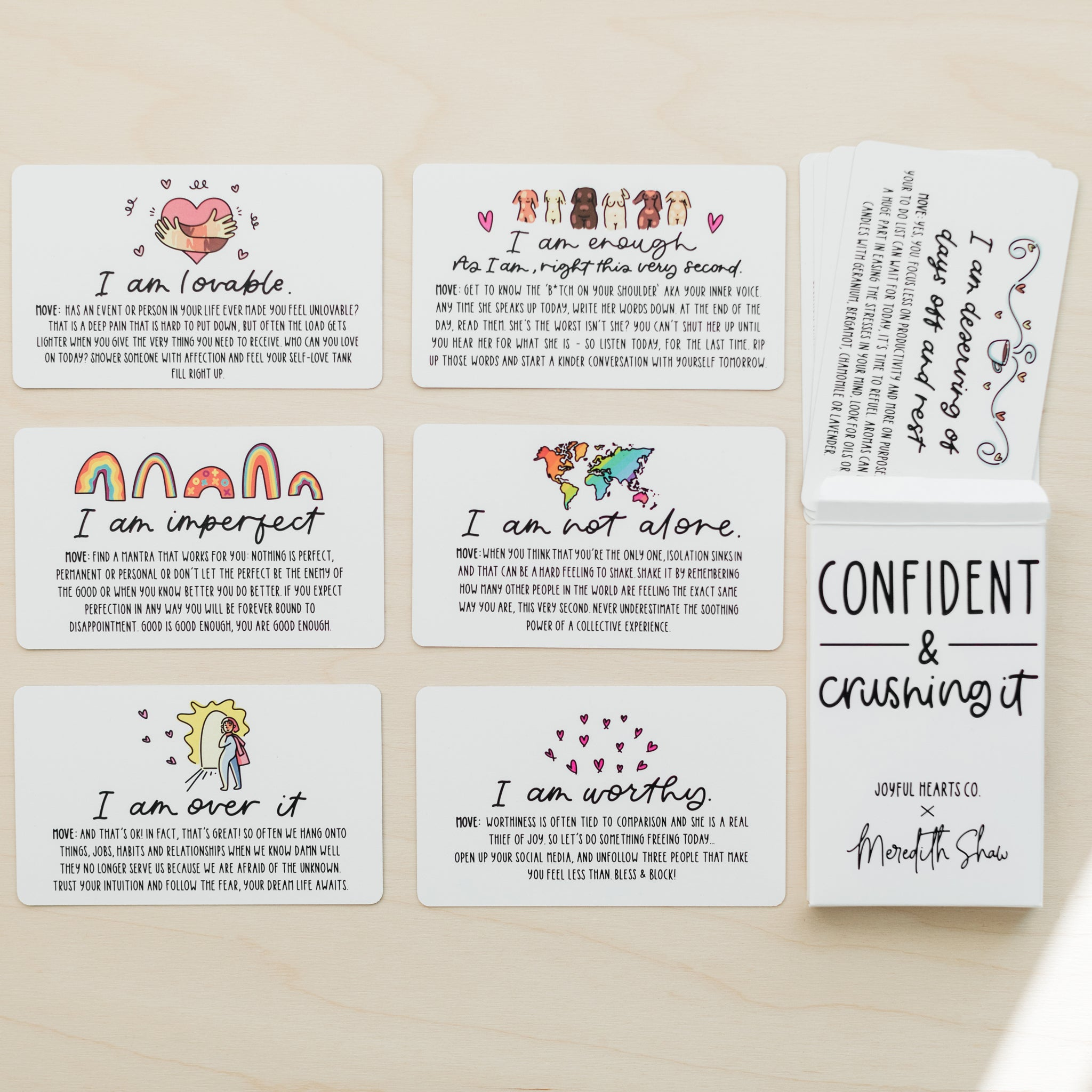 Affirmation Cards - Joyful Hearts Co..