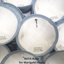 Load image into Gallery viewer, Personalized Kippahs for Brit Milah with 1 day handling. Ships next day