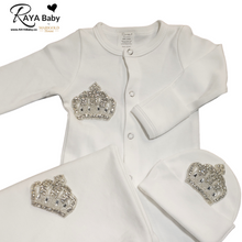 Load image into Gallery viewer, Silver Crown Converter Bris Gown Set