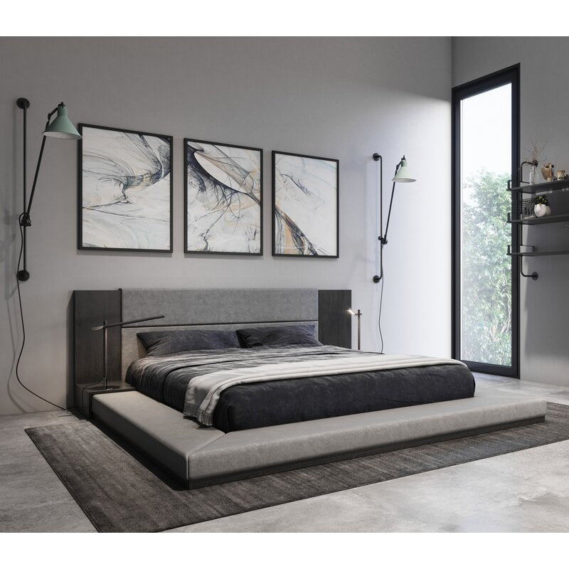 Defalco Upholstered Platform Bed
