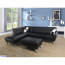 Load image into Gallery viewer, Dolan Modern Sectional with Ottoman