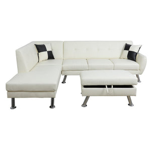 Dolan Modern Sectional with Ottoman