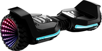 Jetson - Flash All-Terrain Light-Up Self Balancing Scooter - Black