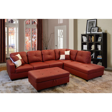 Maumee Sectional with Ottoman
