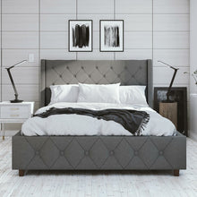 Load image into Gallery viewer, Mercer Upholstered Platform Bed