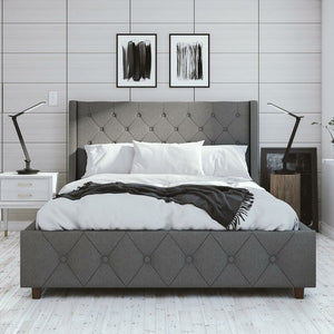 Mercer Upholstered Platform Bed