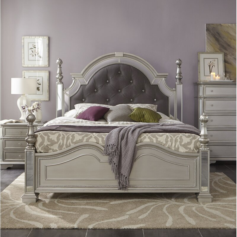 Verne Upholstered Panel Standard Bed
