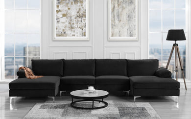 MODERN OVERSIZED SECTIONAL SOFA