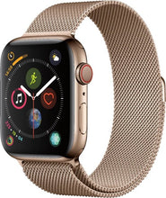 Load image into Gallery viewer, Apple - Apple Watch Series 4 (GPS + Cellular) 40mm Gold Aluminum Case with Pink Sand Sport Band