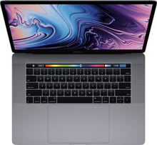 "Load image into Gallery viewer, Apple - MacBook Pro 15.4"" Display with Touch Bar - Intel Core i7 - 16GB Memory - AMD Radeon Pro 555X - 256GB SSD"
