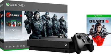 Microsoft - Xbox One X 1TB Console Bundle - Black