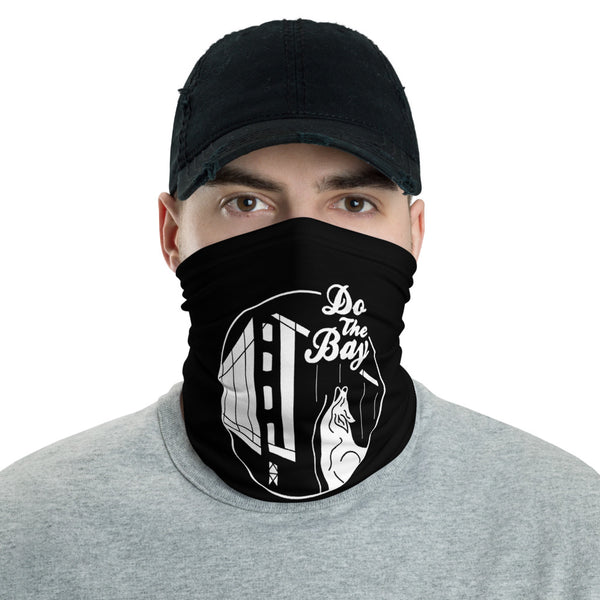 'Coyote' Neck Gaiter (Black)