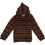 Mustard Stripe Hooded Top