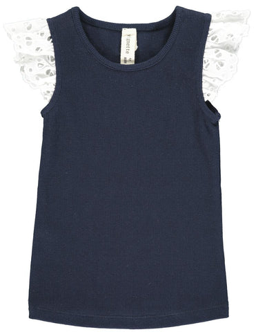 Annabel Tank - Navy