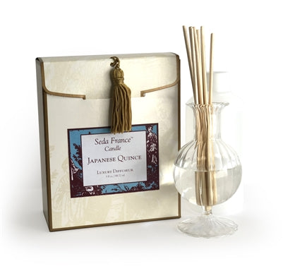 Mini Japanese Quince Classic Toile Diffuser Set