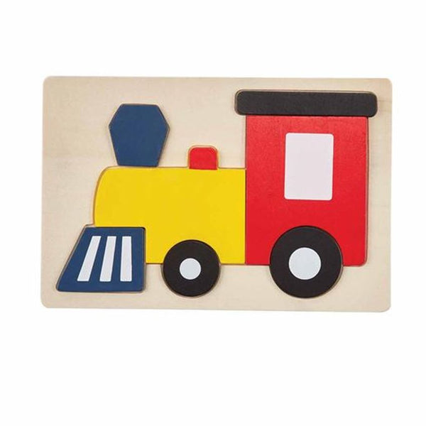 Wooden Vehicle Puzzle - Variety