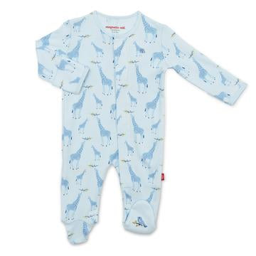 Blue Jolie Giraffe Magnetic Footie