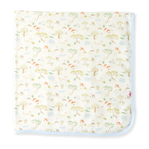 Land Down Under Organic Cotton Blanket