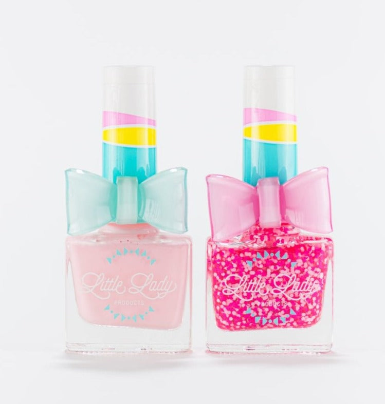 Marshmallow Clouds & Princess Kisses Duo Fingernail Polish