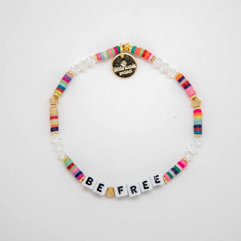 Little Words Project Bracelet - White Block