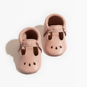 Blush Mary Jane Moccasin