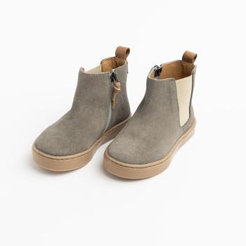 Chelsea Boot - Grey Suede