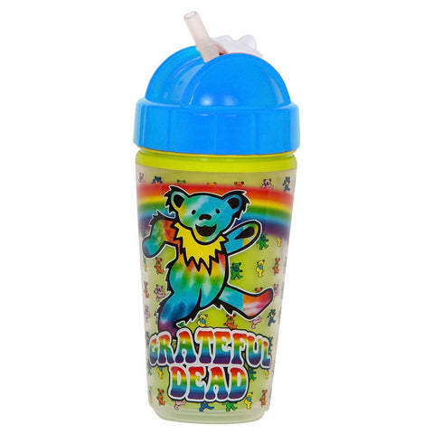 Grateful Dead Dancing Bears Sippy Straw Cup