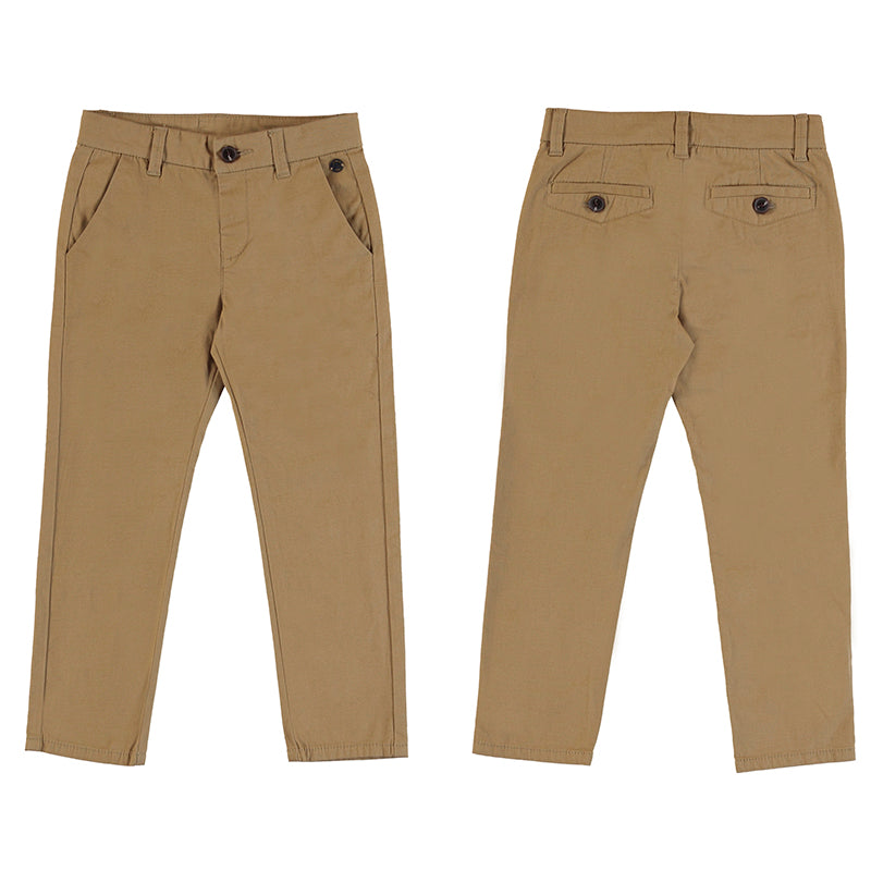 Basic Khaki Trousers