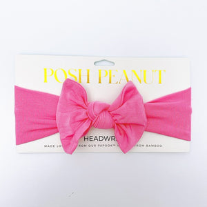 Pink Lemonade - Solid Color - Infant Headwrap