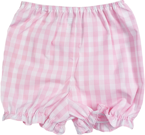 Munro Bloomer - Pink Plaid - Little Bunny Foo Foo