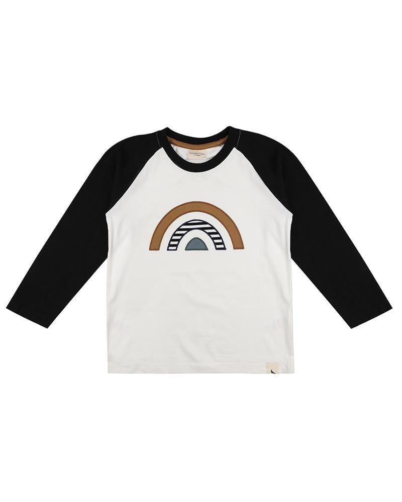 Raglan Rainbow Applique Top