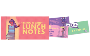 Lunch Notes - Girl