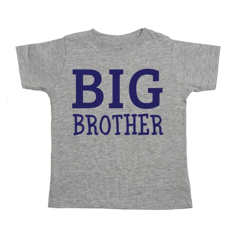 Big Brother Short Sleeve Shirt - Gray
