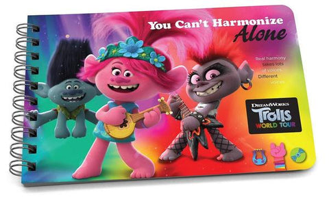 You Can't Harmonize Alone - Trolls Binder Book