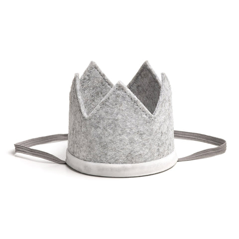 Gray/White Boy Crown
