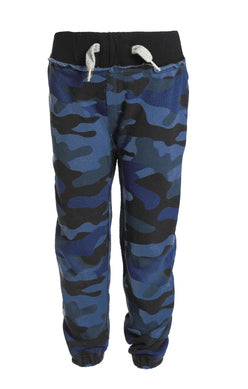 Gym Sweats - Deep Navy Camo