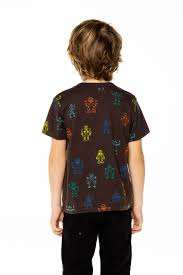Robot Walk Vintage Jersey Short Sleeve Tee  - Union Black