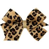 Medium Cheetah Print Bow