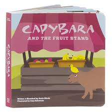Capybara and The Fruit Stand - Book
